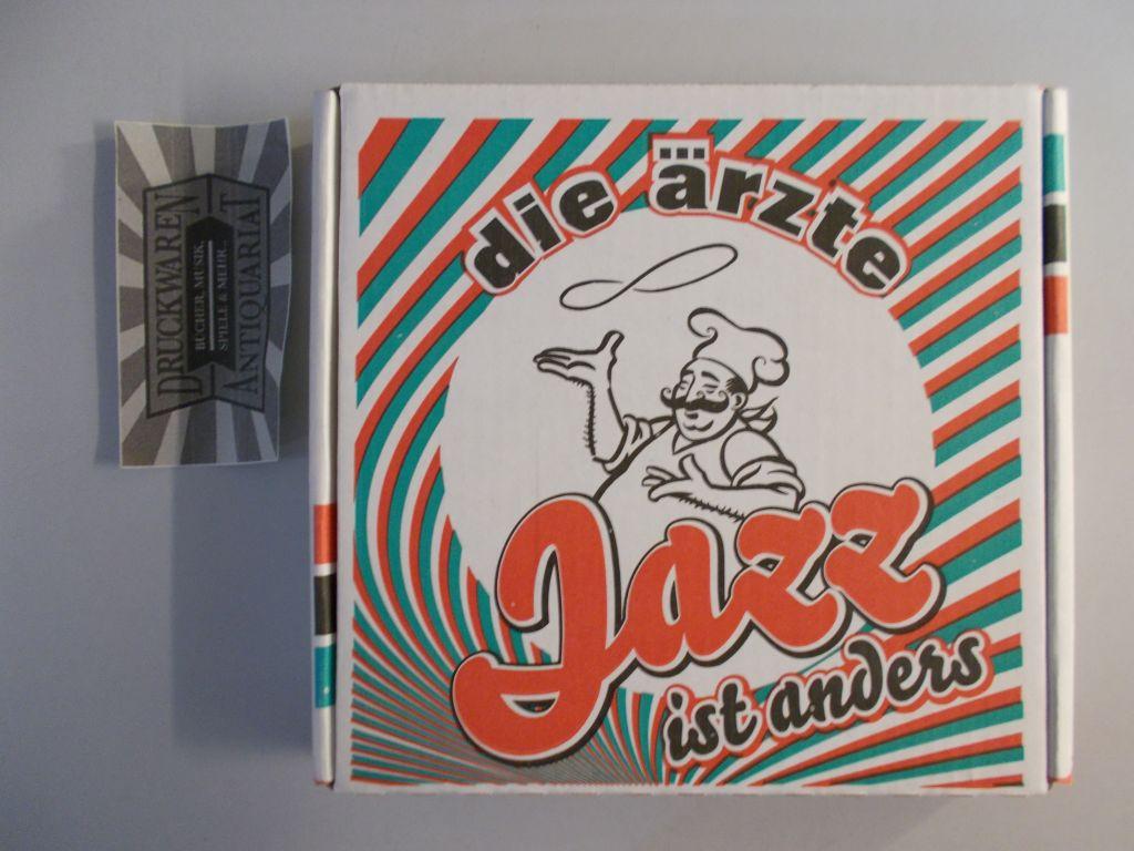 Jazz ist anders [Audio CD + Mini Audio CD]. Limited Pizza Karton Edition.