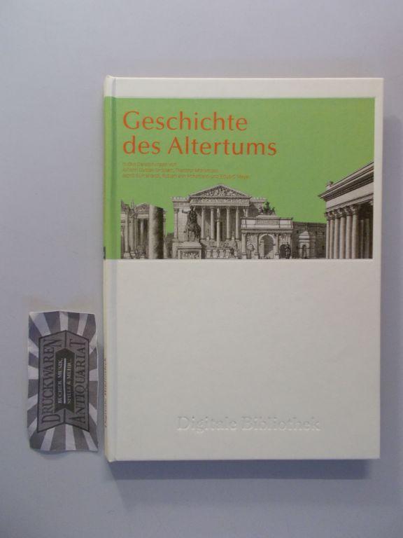 Droysen, Johann Gustav und Mommsen, Theodor: Geschichte des Altertums [PC + MAC Software]. Digitale Bibliothek 55.