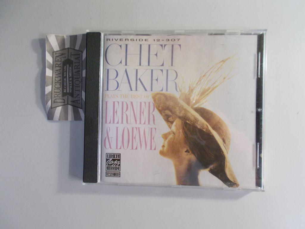Baker, Chet: Original Jazz Classics: Plays The Best Of Lerner & Loewe
