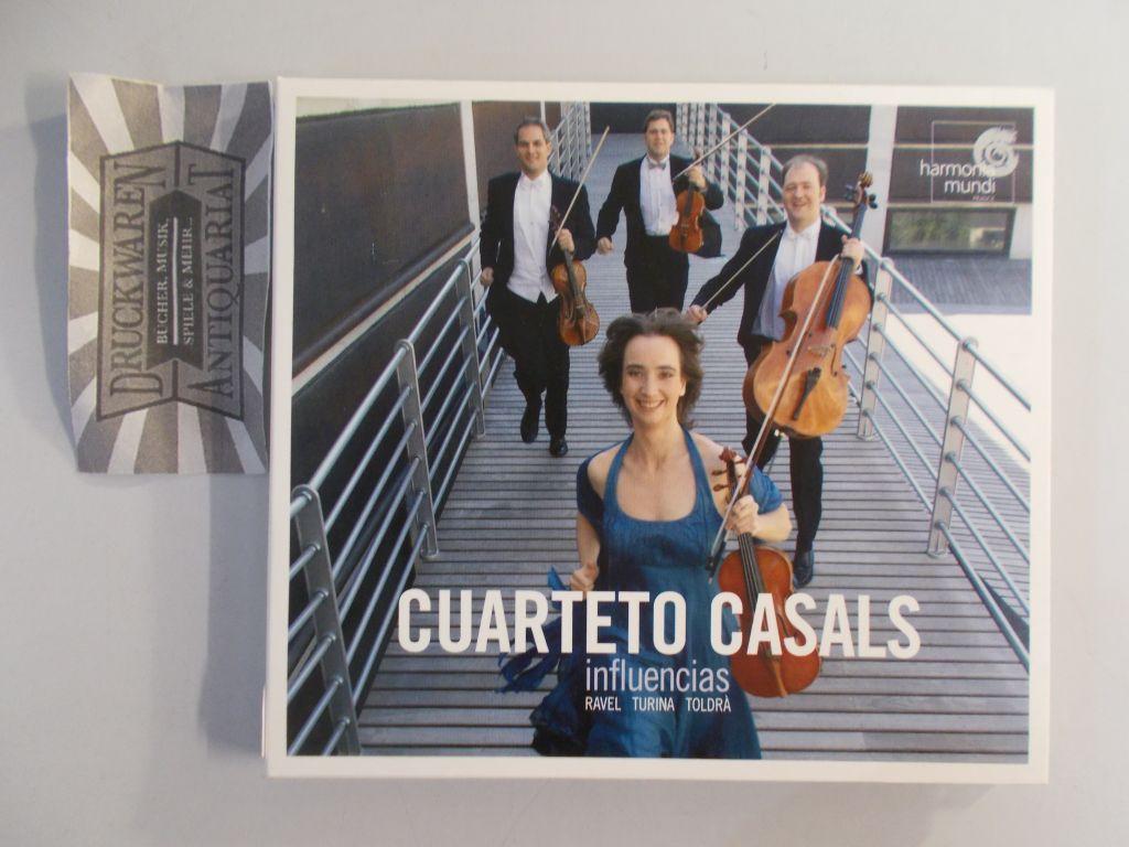Influencias (Ravel/Turina/Toldrà) [Audio CD].