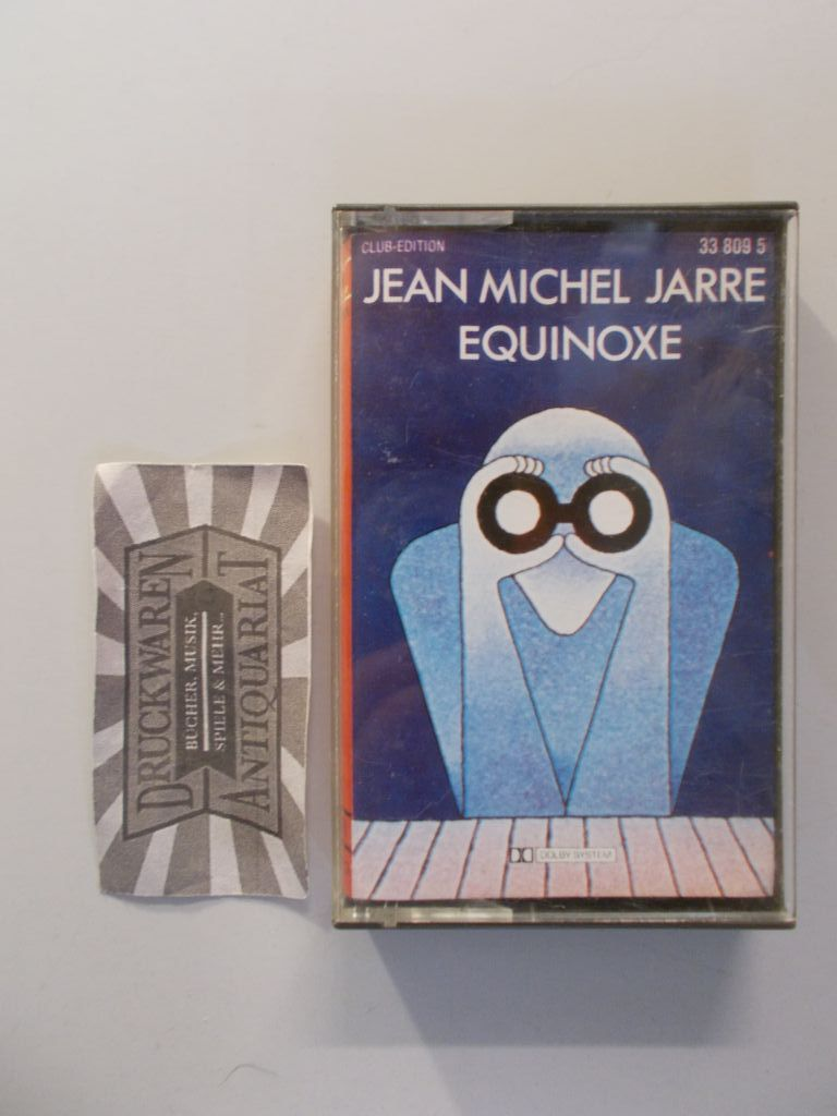 Jarre, Jean Michel: Equinoxe [MC]. Club-Edition.