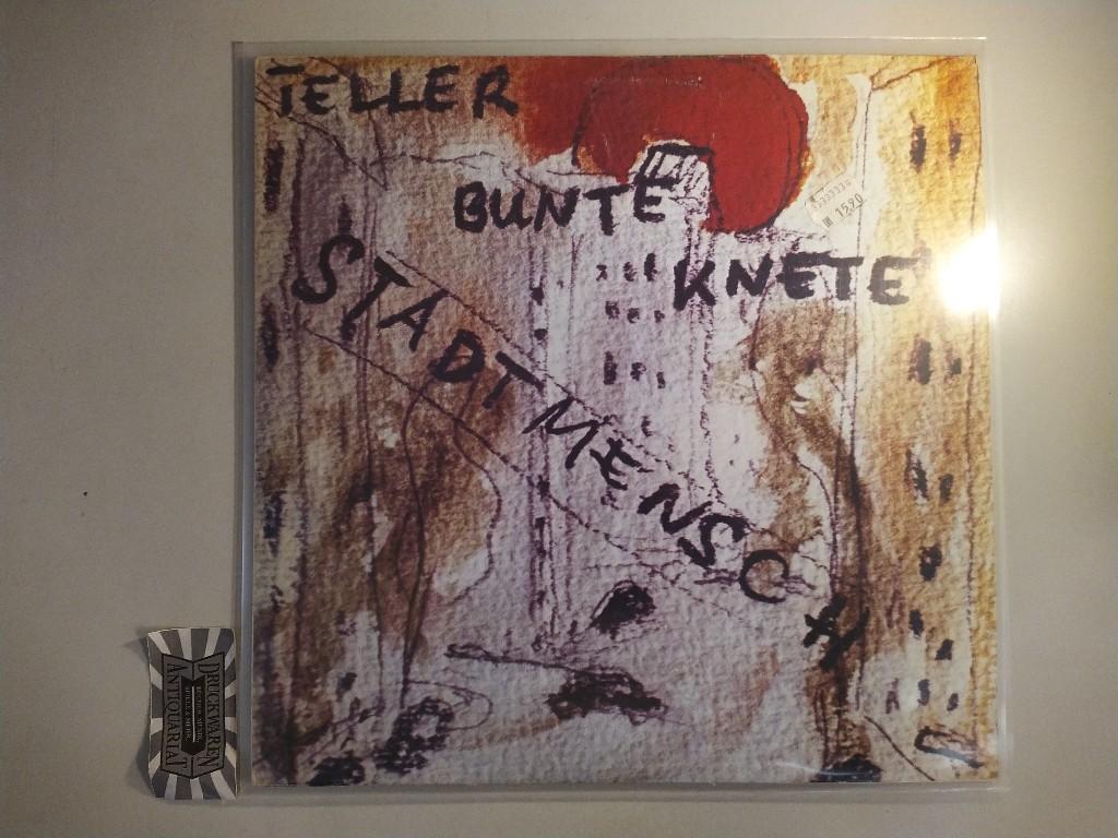 Teller Bunte Knete: Stadtmensch [12