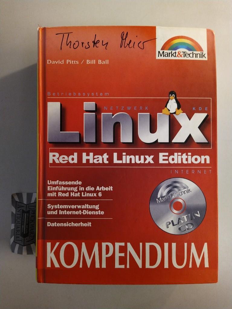 RedHat Linux 6. umfassende Einführungen in die Arbeit mit RedHat Linux 6. Systemverwaltung und Internet-Dienste. Datensicherheit.