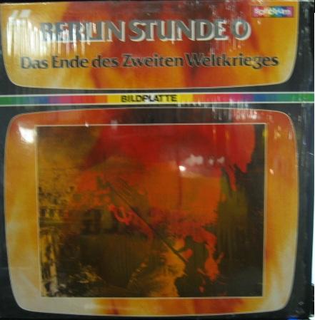 Berlin Stunde 0 - das Ende des zweiten Weltkrieges [Laserdisc / Bildplatte, PAL].