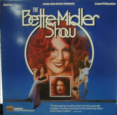 The Bette Midler Show [Laserdisc / Bildplatte, PAL].