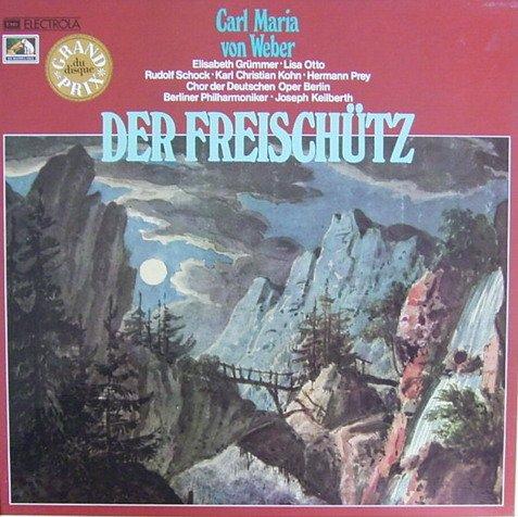 Der Freischütz  (3 Vinyl LP´s]. Grand Prix du disque.