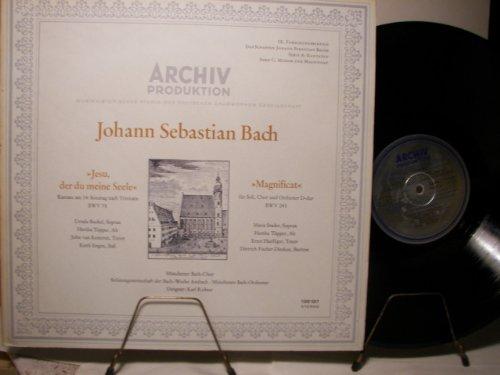 Jesu, der du meine Seele / Magnificat [Vinyl-LP 198197].