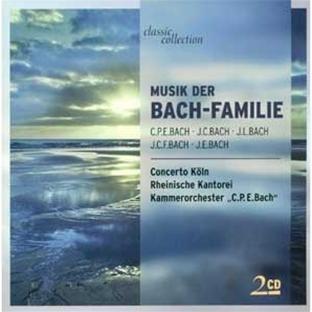 Musik der Bach-Familie [2 Audio CDs].