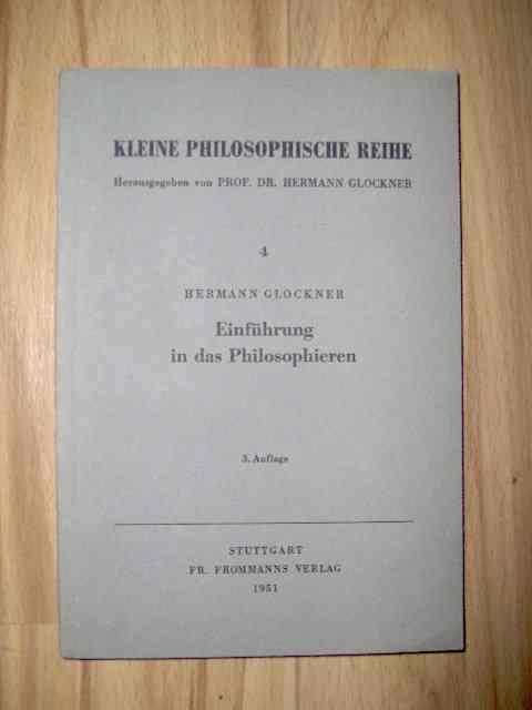Einführung in das Philosophieren