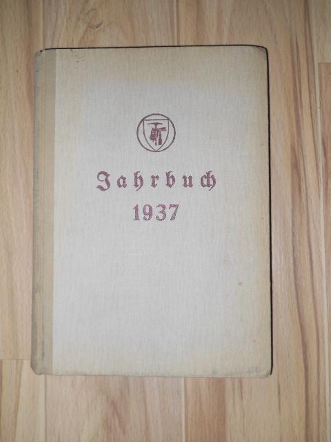 Jahrbuch des Reichsinnungsverbandes des Taperzier-, Sattler-, Polsterer- und Dekorateur Handwerks 1937.