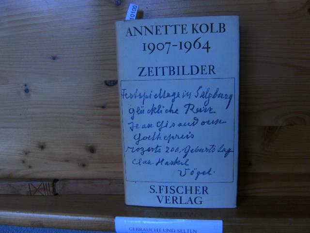 1907-1964  Zeitbilder 1.Aufl.