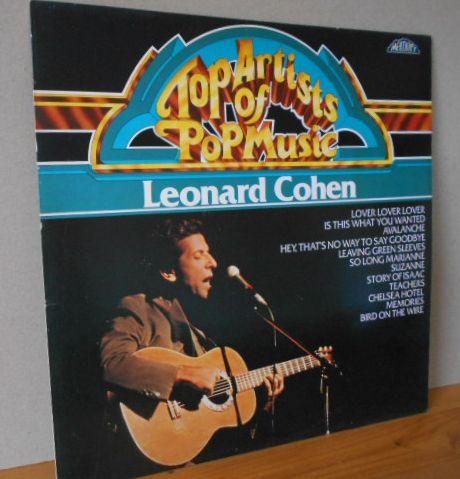 Top Artists of Pop Music LEONARD COHEN Memory 296 978-254