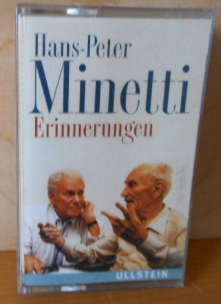 Erinnerungen Hans Peter Minetti erzählt aus seinem Leben