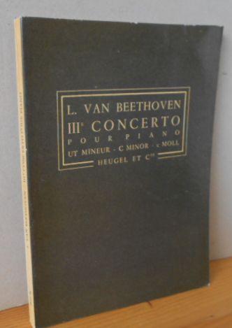 IIIe Concerto pour Piano op. 37 - Ut Mineur, C Minor, C Moll - P.H. 85