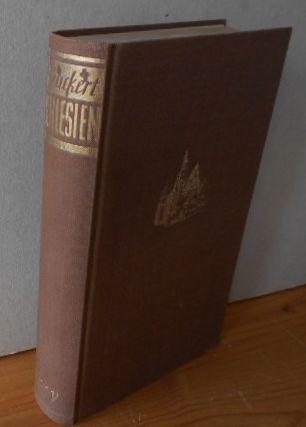 Peuckert, Will-Erich.: Schlesien. Biographie einer Landschaft. Neuauflage von : Schwarzer Ader unterm Silbermond.