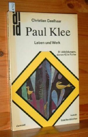 Paul Klee : Leben u. Werk. dumont-kunst-taschenbücher , 8