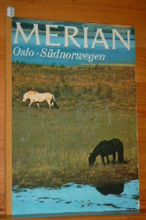 Merian Heft 6 / Jg. 24: Oslo und Südnorwegen. Das Monatsheft der Städte und Landschaften. aktualisierter Nachdruck.