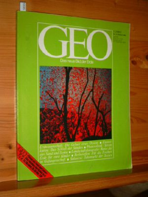 GEO Das neue Bild der Erde 10/1982. Erdwissenschaft - Fastenkuren - Lanschaftsfotografie - Berberaffen - Sulawesi - Photovoltaik.