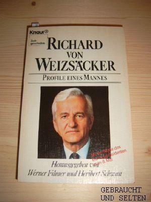 Richard von Weizsäcker : Profile e. Mannes. Heribert Schwan, Knaur. Vollst. Taschenbuchausg.