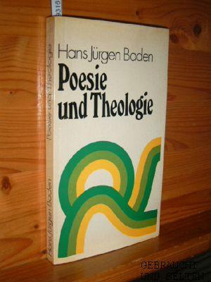 Poesie und Theologie. 1. Aufl.