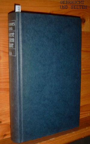Unsere letzten Jahre : Fragmente aus Deutschland ; 1970 - 1980. 2. Aufl., 26. - 35. Tsd.