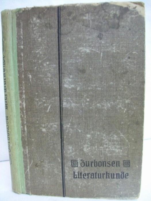 Literaturkunde. Leitfaden der deutschen Literaturgeschichte elfte Auflage