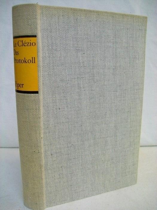 Das Protokoll. Roman. Aus dem Französischen von Rolf und Hedda Soellner.