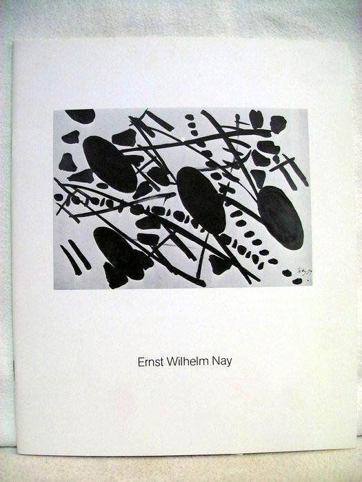 Nay, Ernst Wilhelm -: Ernst Wilhelm Nay 1902-1968. Katalog zur Ausstellung in der Galerie Haas, Berlin 1984. mit beigelegter Einladungskarte zur Ausstellungseröffnung