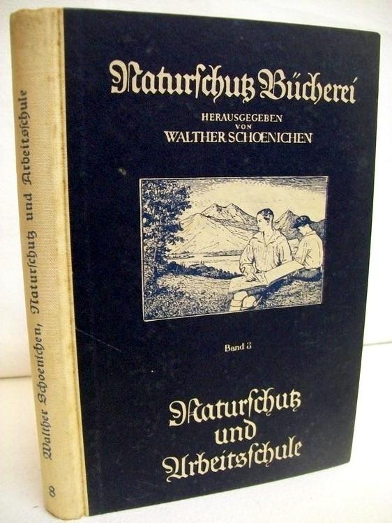 Naturschutz und Arbeitsschule. Naturschutz Bücherei. Badn 3.