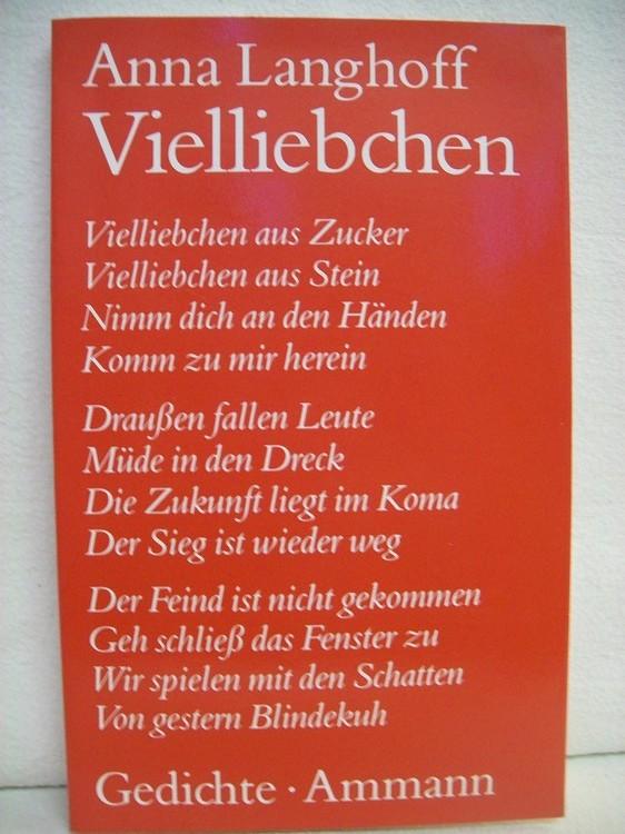 Vielliebchen : Gedichte.