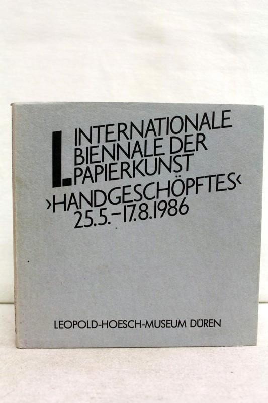 Div.: I.Internationale Biennale der Papierkunst.