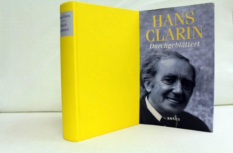 Durchgeblättert. In Zusammenarbeit mit Manfred Glück 1. Aufl.