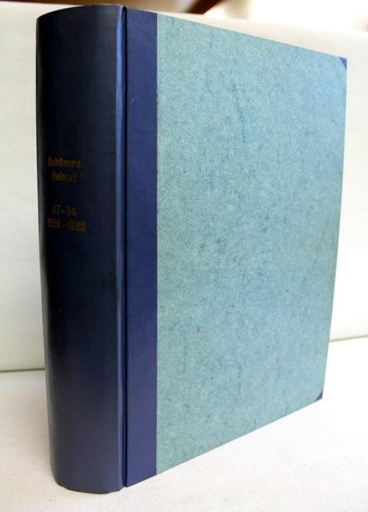 Schönere Heimat. Erbe und Gegenwart. 1958 - 1965. 47.- 54. Jahrgang.