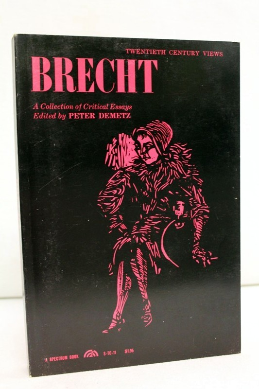 Brecht: A Collection of Critical Essays 1:Auflage