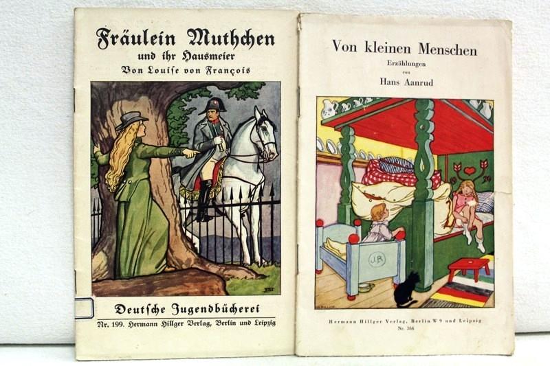 Von kleinen Menschen. Deutsche Jugendbücherei Nr. 366. Fräulein Muthchen und ihr Hausmeister Deutsche Jugendbücherei Nr. 199. Konvolut aus zwei Heften.