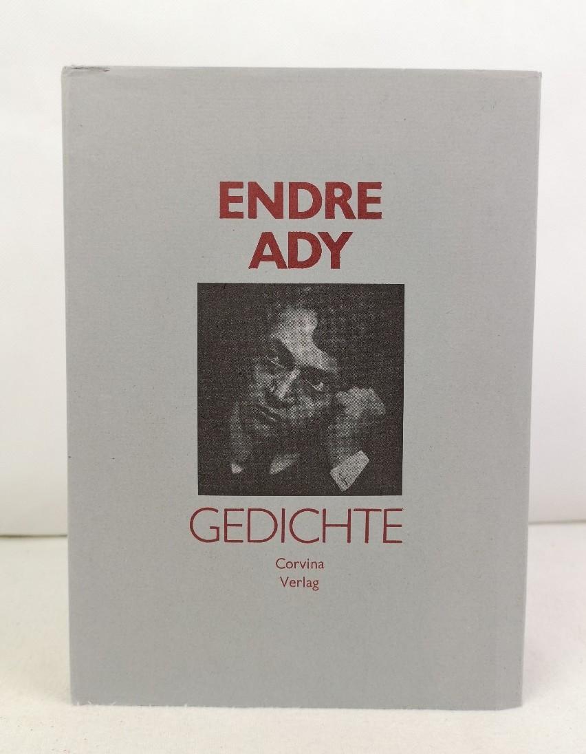 Gedichte. Auswahl zum 100. Geburtstag des Dichters. Endre Ady. Eingel. von László Bóka. Nachdichtungen von Annemarie Bostroem ...
