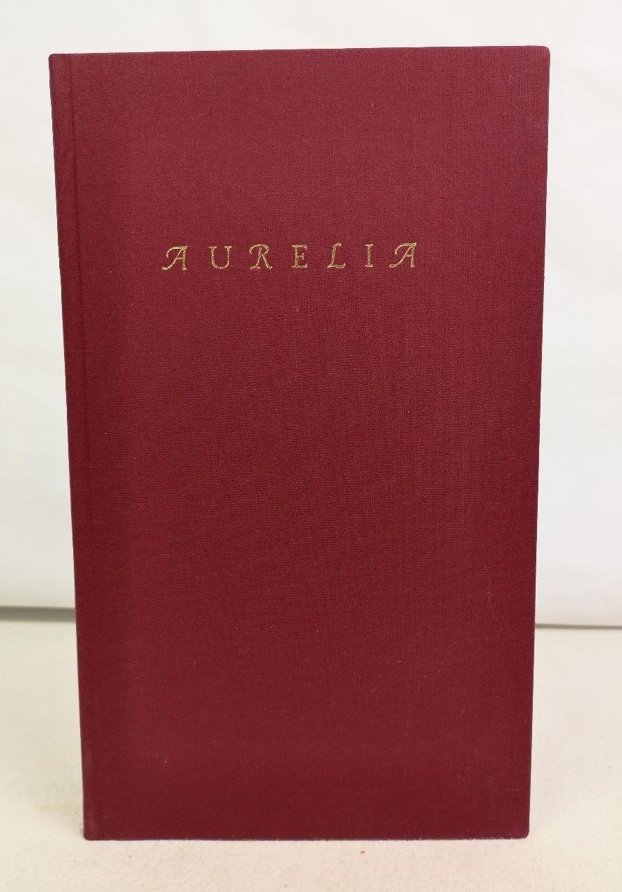 Aurelia mit zehn Originalradierungen von Paul Mersmann. In der deutschen Übersetzung von Hedwig Kubin. Veröffentlichung der Maximilian-Gesellschaft für 1995 in einer Auflage von 1300 Exemplaren.