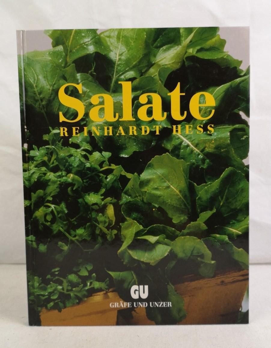 Salate. Essig & Öl. Salate der feinen Art - Aufsteiger in Grün. Reinhardt Hess