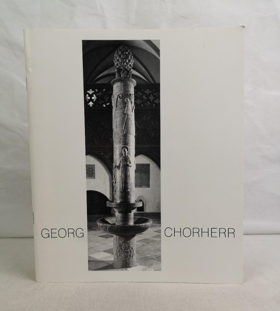 Bildhauer Georg Chorherr. Zum 80.Geburtstag von Georg Chorherr.