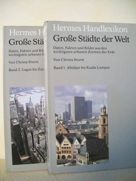 Sturm, Christa: Grosse Städte der Welt . - Düsseldorf : Econ-Taschenbuch-Verlag Bd. 2.,  Lagos bis Zürich