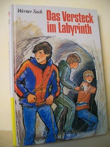 Das  Versteck im Labyrinth Werner Sack