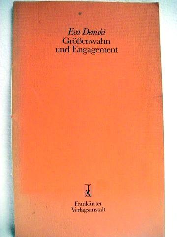 Größenwahn und Engagement Rede zur Einführung in das Amt der Stadtschreiberin von Bergen am 2. September 1988