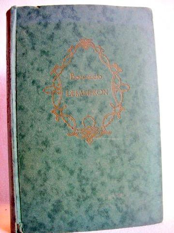 Boccaccio;  Dekameron; neu bearbeitet von Gustav Will Giovanni Boccaccio