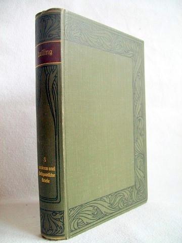 Lessings Werke; Dritter Band; Laokoon und antiquar. Briefe Meyers Klassiker-Ausgaben Hrsg.Prof. Dr. Ernst Elfter; Hrsg. von Franz Bornmüller