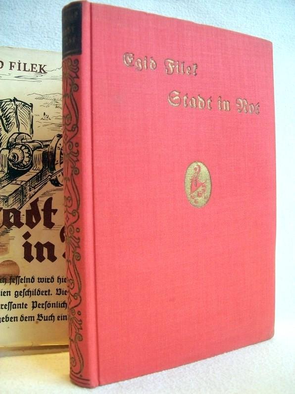 Egid Filek: Stadt in Not , Geschichtlicher Roman