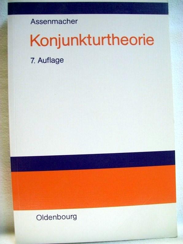 Konjunkturtheorie. 7. durchges. Aufl.