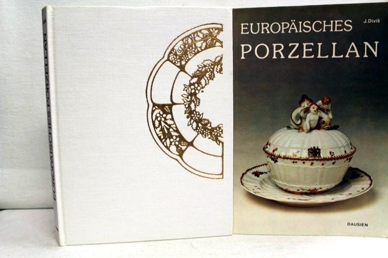 Europäisches Porzellan. Fotos von Sona Divisova. Federzeichnungen von Ivan Kafka.