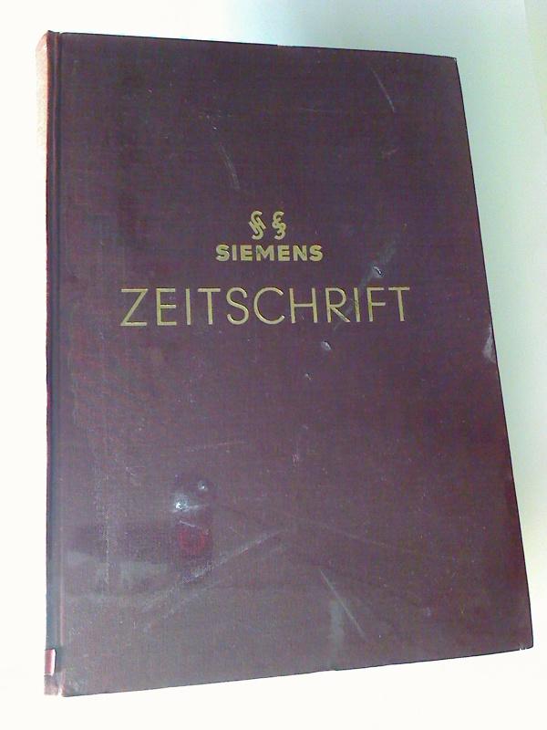 Siemens-Zeitschrift. - 37. Jg. / 1963, H. 1 - 12 (gebundener Jg.-Bd.)