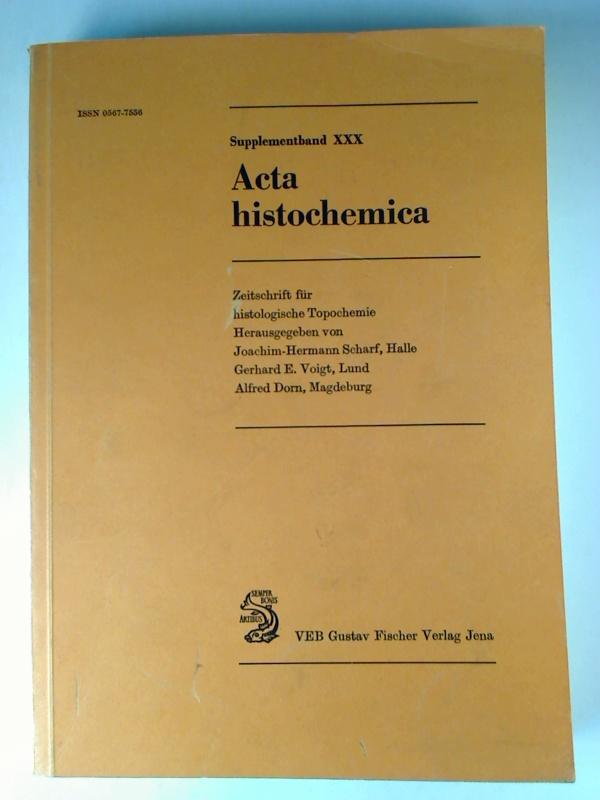 Möglichkeiten und Grenzen praktisch-diagnostischer Zyto- und Histochemie. 1. Aufl. (Acta histochemica : Supplementband. ; 30)