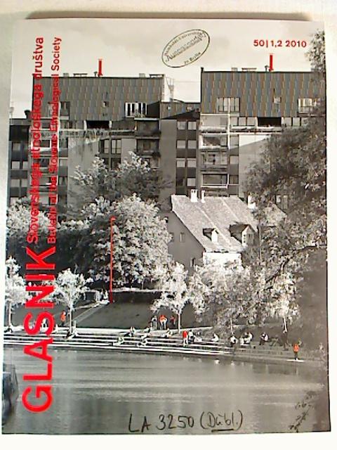 GLASNIK - Slovensko Etnolosko Drustvo - Vol. 50 / 1,2 - 2010. 1. Aufl.